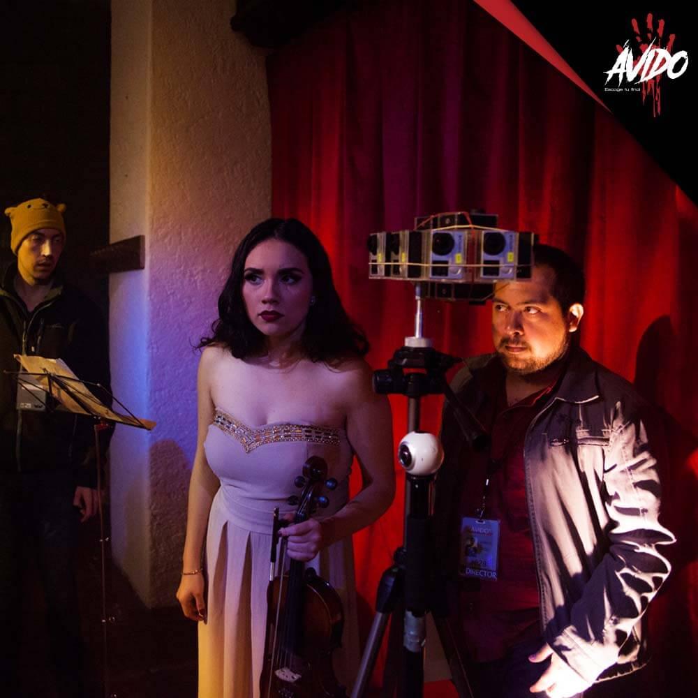 """""""Ávido"""", un cortometraje en realidad virtual"""