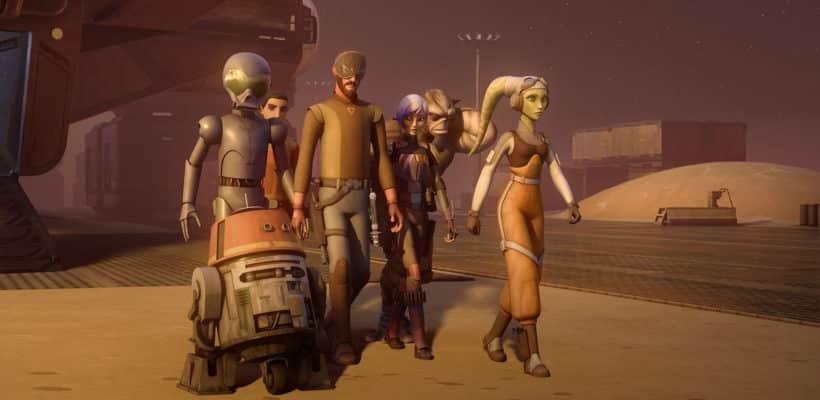 """""""Star Wars Rebels"""" cuarta temporada en proceso de producción"""