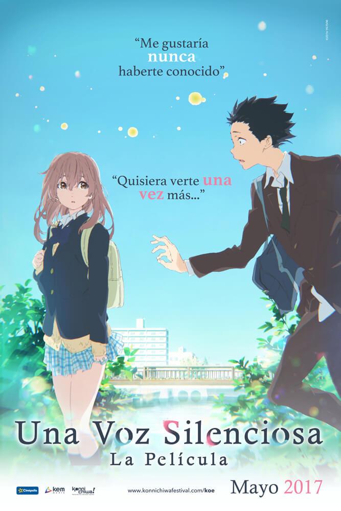 """La cinta de animación japonesa """"Koe no katachi"""", llegará a México"""