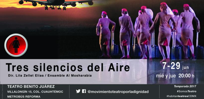 """La condición femenina de las azafatas en la obra  """"Tres silencios del aire"""""""