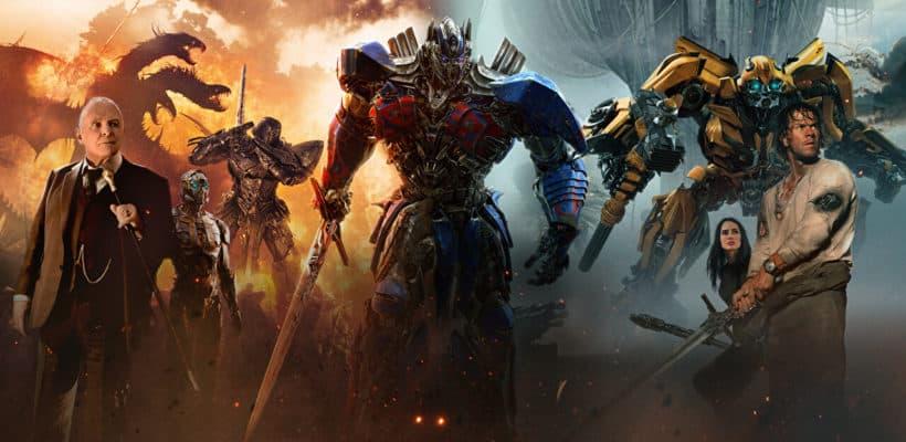 """""""Transformers: el último caballero"""" y Merlín"""