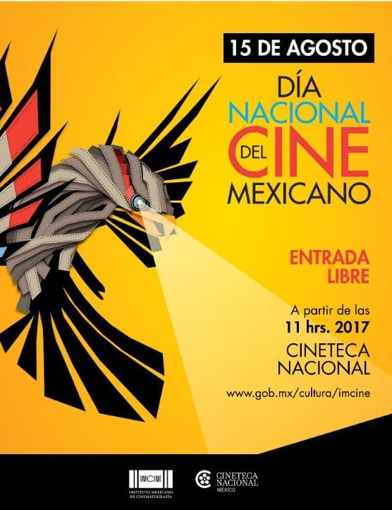 IMCINE y la Cineteca Nacional celebrarán el  Día Nacional del Cine Mexicano