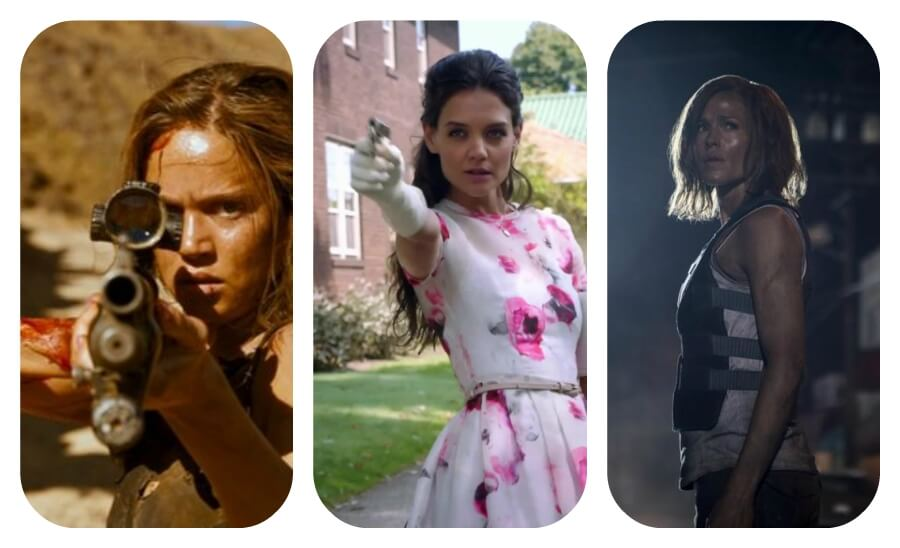 Tres mujeres en el nombre de la justicia (películas con mujeres de acción)