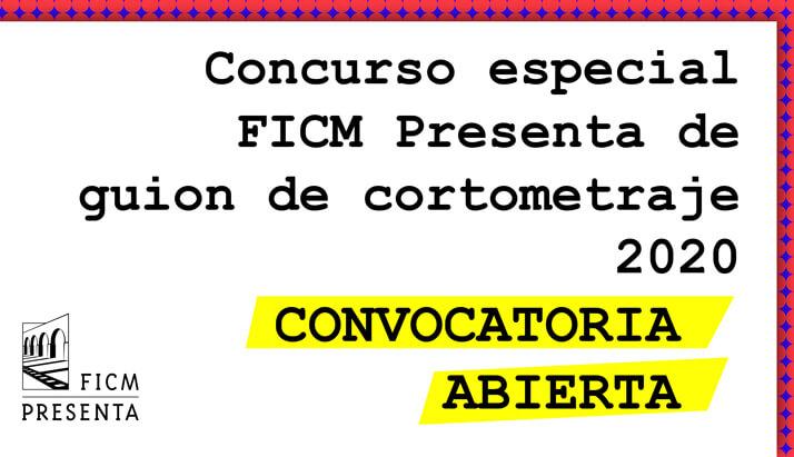"""FICM convoca al """"Concurso especial de guion de cortometraje 2020"""""""