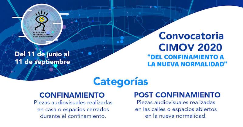 """CIMOV presenta la convocatoria """"Del confinamiento a la nueva normalidad"""""""